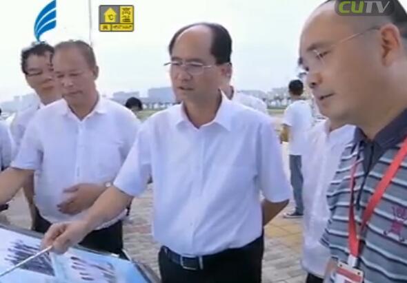郑剑戈调研重点交通基础设施规划建设 2017-08-11