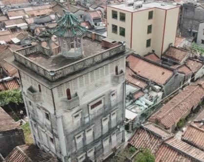 东观楼:民国时期和平镇第一高楼 曾是练江地标