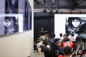 """华人摄影家""""印象纽约""""拍摄活动在纽约举行"""