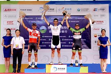 第十七届环青海湖国际公路自行车赛首站开赛