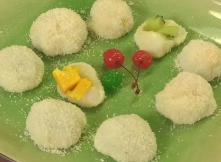 【今晚开班】水果椰蓉糯米糍