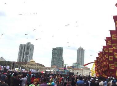 中国风筝首次亮相斯里兰卡国际风筝节