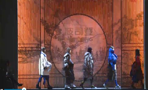 中国羽绒服品牌波司登首登纽约时装周