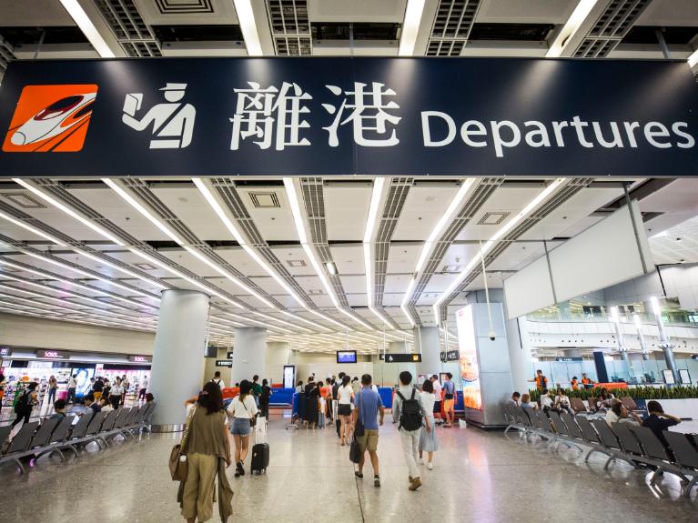 香港旅议会:9月内地入境团旅客人数同期下跌超9成