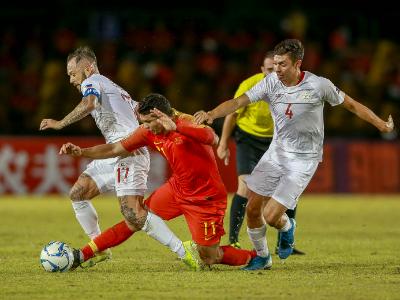 历史首次没赢菲律宾 两场大胜后国足又被打回原形?
