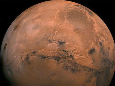 研究发现远古火星上的水适合生命存在