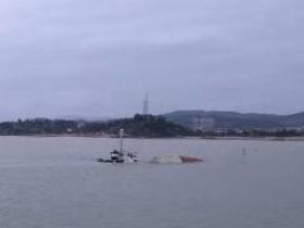 台湾籍杂货船闽江口水域碰撞沉没 7人获救2人失联