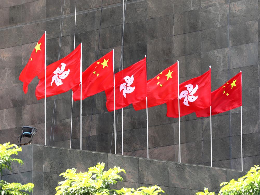 止暴制乱 守护香港
