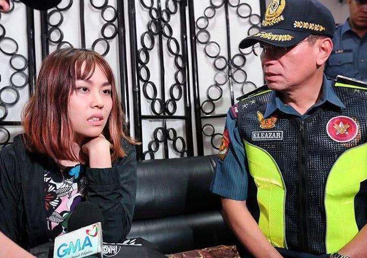 驻菲使馆就中国女子向菲警泼洒豆腐花案件会见菲警方