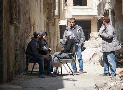 """叙利亚危机爆发8周年:废墟中""""疗伤""""的东古塔"""
