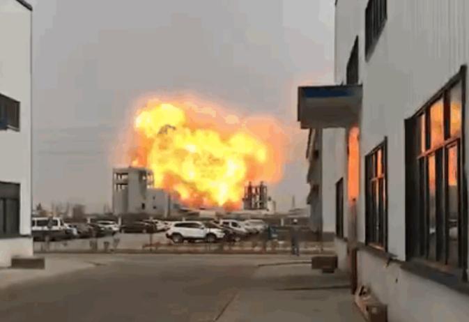 揪心!江苏盐城一化工厂爆炸,致6人死亡30人重伤