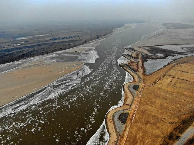 黄河安全度过110天凌汛期