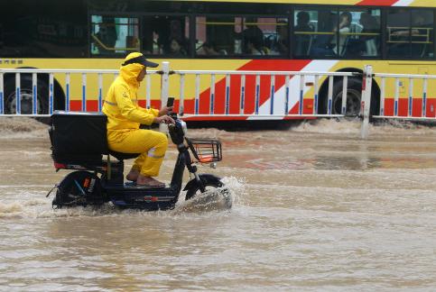 暴雨蓝色预警 安徽湖南广东等6省局地有大暴雨