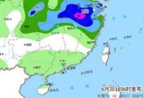 今起南方7省区将有大暴雨 雨区与前期重叠致灾风险高