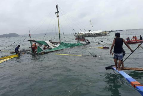 菲律宾中部沉船事故已造成25人死亡