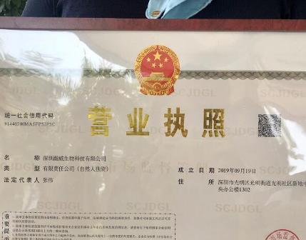 """深圳:全程无人工干预 """"秒批""""营业执照"""