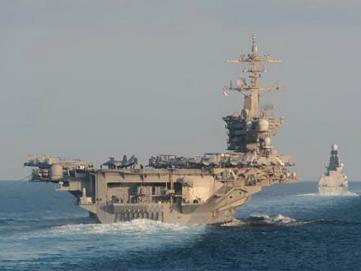 """擔心""""羅斯福""""航母被中國視為不堪一擊,美軍做出一個決定"""