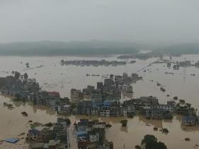 ?江西省70個縣區降雨超250毫米 鄱陽湖預計將發生流域性大洪水